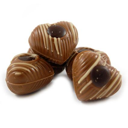Mousse au Chocolate Herzen