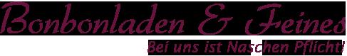 Bonbonladen & Feines | Bei uns ist Naschen Pflicht Logo